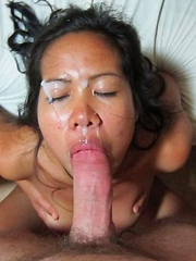 Naughty Filipina suck and fuck a stiff cock